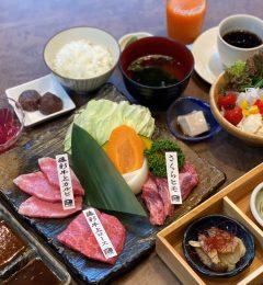オリジナル和牛「藤彩牛」焼肉と馬刺しをご堪能ください!
