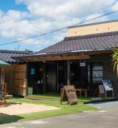 熊本にひっそりと佇む隠れ家CAFÉ